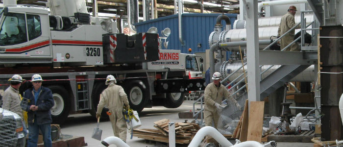Guy Nielson Co. | Industries We Serve | Refractory Contractors | Refinery Repair